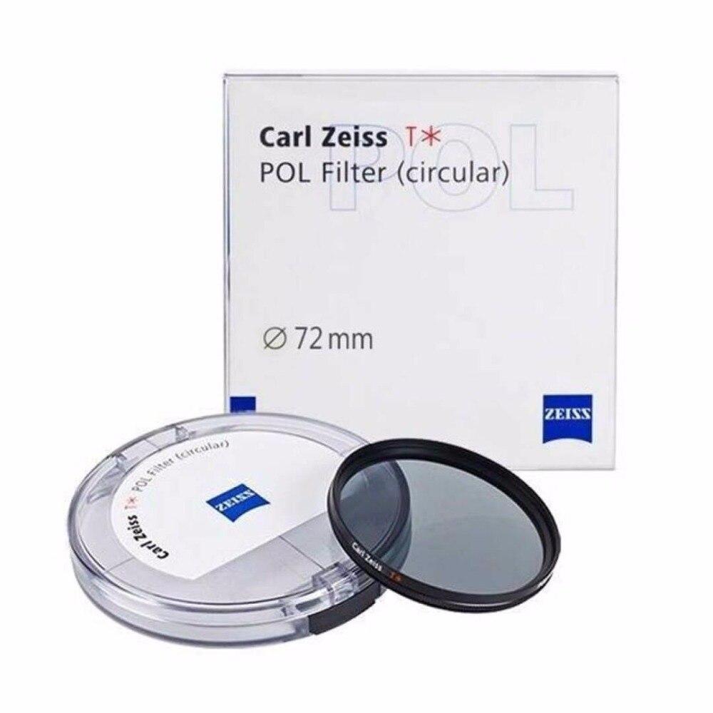 Nuovo Carl Zeiss T * POL Filtro Polarizzatore 67mm 72mm 77mm 82mm Cpl Polarizzatore Circolare Filtro Multi-coating Per Obiettivo Della Fotocamera