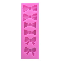 Bow Silicone Mold Fondant Mould Cake Decorating Tools Chocolate Gumpaste Molds, Sugarcraft, Kitchen Accessories