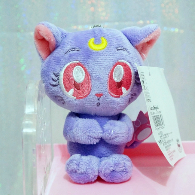 Sailor Moon Warrior Luna Cat Plush Eye Mask Anime Glossy Eye Shade Sleep Goggles Cartoon Shading Cat Eye Mask Novelty & Special Use
