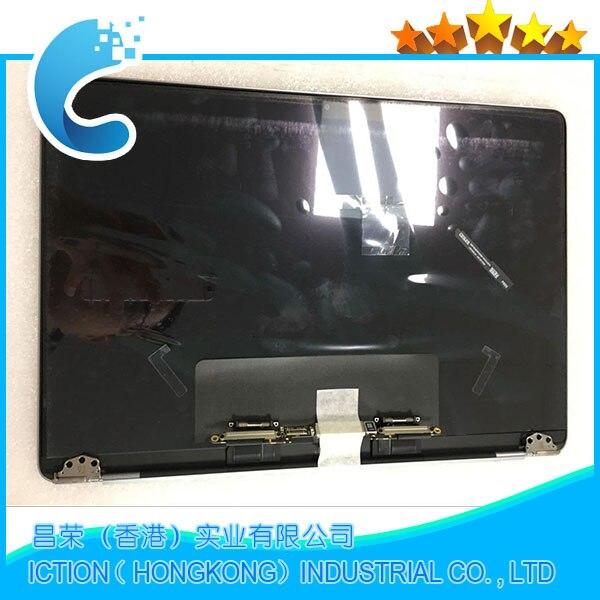 Véritable Nouveau A1706 A1708 Gris Argent Couleur pour Macbook Pro Retina 13 A1706 A1708 LCD Écran Assemblée Complet Fin 2016 Mi 2017