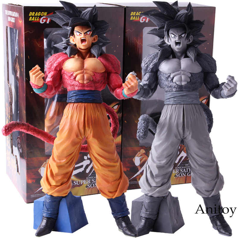Dragon Ball GT Super Estrelas Mestre Pedaço O SSJ4 4 Son Goku Super Saiyan Goku PVC Action Figure Collectible modelo de Brinquedo