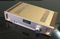 I 027 HIFI AUDIO Power Amplifier Hood 1969 Class A 10W+10W Stereo 2N3055 Amplifier in case 220V