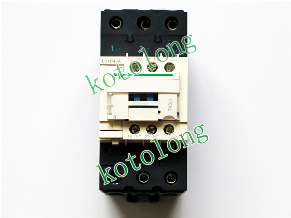 AC Contactor LC1D40A LC1-D40A LC1D40AU7 LC1-D40AU7 240V LC1D40AV7 LC1-D40AV7 400V LC1D40AW7 LC1-D40AW7 277V ac contactor lc1d40 lc1 d40 lc1d40fe7 lc1 d40fe7 115v lc1d40g7 lc1 d40g7 120v lc1d40k7 lc1 d40k7 100v lc1d40l7 lc1 d40l7 200v