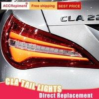 Автомобильный Стайлинг светодиодный задний фонарь для Mercedes Benz CLA задние фонари 15 18 для CLA задний свет DRL + поворотник + тормоз + светодиодные ф