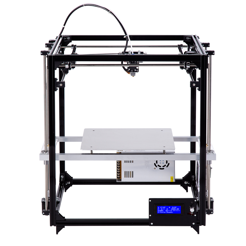 High Accuracy 3D Printer Build Size 260 260 350 mm Large 3D Printer