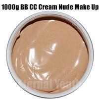 Khoáng tinh khiết CC BB Cream 1000 gam Khỏa Thân Trang Điểm Che Khuyết Điểm Ly Làm Trắng Giữ Ẩm Mỹ Phẩm Làm Đẹp Salon Thiết Bị Chăm Sóc OEM