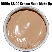 Pure Mineral CC BB Cream 1000g Nude Makeup Concealer Isolation Whitening Moisturizing Cosmetics Beauty Salon Care Equipment OEM