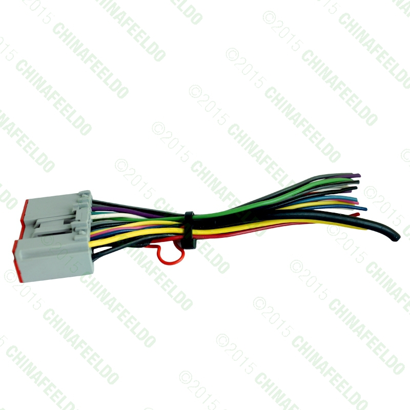 ford radio harness promotion shop for promotional ford radio car radio player wiring harness audio stereo wire adapter for ford escape explorer f 150 250 350 focus mustang oem factory radio