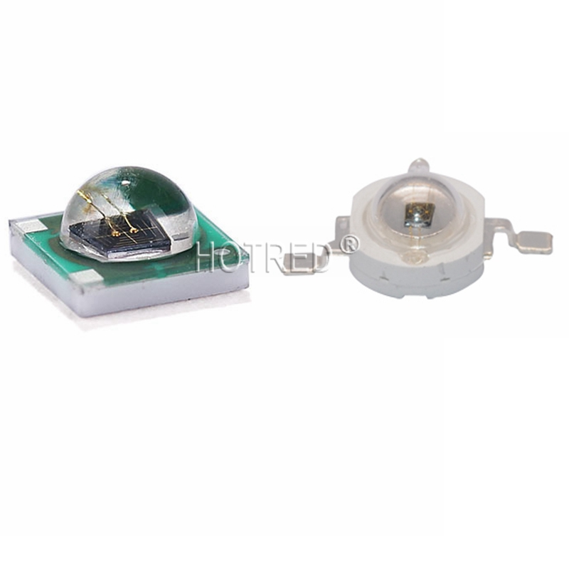 10PCS High Power LED Chip 1W-3W 3535 808nm 805-810nm EPILEDs Infrared IR 1.5-1.7V 700mA Diode Emitter Lamp