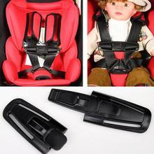 Safe Lock Car Child Clip Buckle Latch Baby Safety Seat Strap Belt Harness Knots Belt Fastener Car Styling