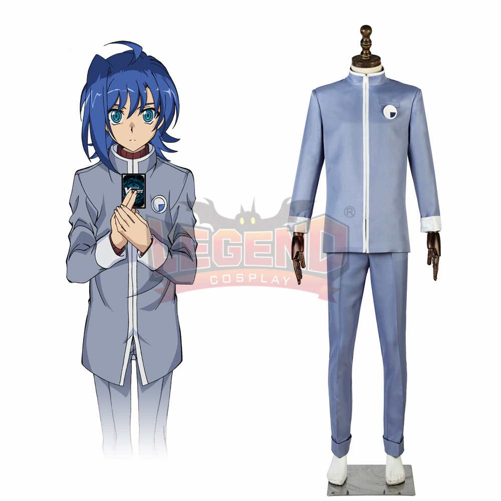 Anime Cardfight!! Vanguard Aichi Sendo Aichi Sendou V Series cosplay costume custom made outfit