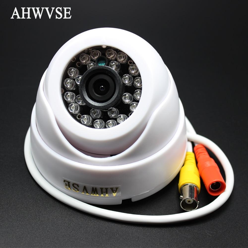 AHWVSE AHD Camera 1080P Mini IR Dome Security Camera Indoor 3.6mm Lens 2MP Cam