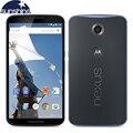 Оригинал Motorola Google Nexus 6 XT1103/XT1100 4 Г LTE Мобильный телефон 3 Г RAM 32 Г ROM 5.96 ''13MP Quad-core смартфон