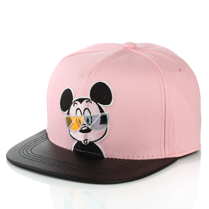 mickey mouse baseball cap for adults by neff with ears toddler new brand children font pink wearing glasses