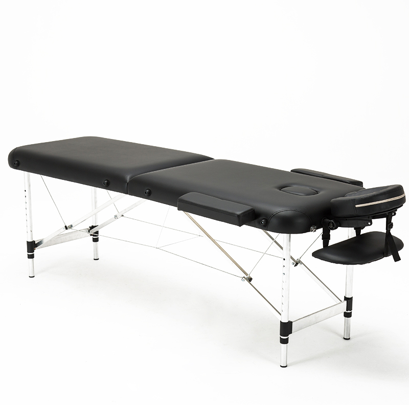 Folding Beauty Bed   Professional Portable Spa Massage Tables Lightweight Foldable With Bag Salon Furniture Aluminum Alloy(China)