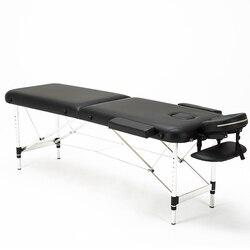 للطي كرسي العناية بالجمال المهنية المحمولة سبا طاولات للتدليك خفيفة الوزن قابلة للطي مع حقيبة صالون الأثاث سبائك الألومنيوم