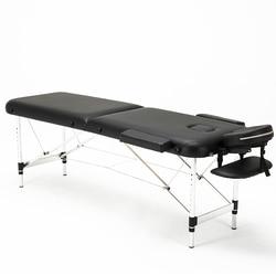 Cama de belleza plegable profesional portátil de Spa mesas de masaje ligero plegable con bolsa de muebles de salón de aleación de aluminio
