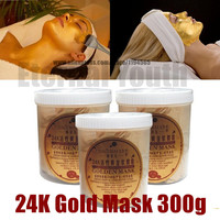 24K Gold Mask Powder 300g Active Face Brightening Luxury Spa Anti Aging Wrinkle Treatment Beauty Care