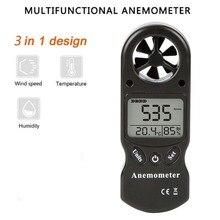 Мини многофункциональный Анемометр цифровой Анемометр ЖК TL-300 скорость ветра, температура измеритель влажности с гигрометром термометр