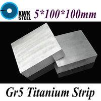 5 100 100mm Titanium Alloy Sheet UNS Gr5 CT4 BT6 TAP6400 Titanium Ti Plate Industry Or