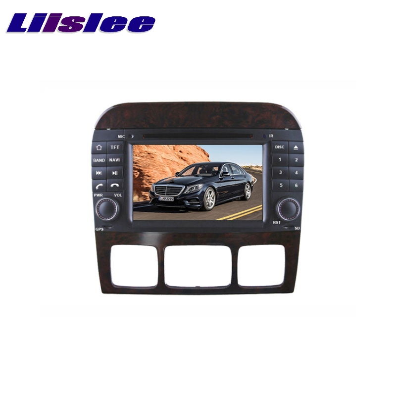 For Mercedes Benz MB S W220 1998~2006 LiisLee Car Multimedia GPS Audio Hi-Fi Radio Stereo Original Style Navigation NAVI