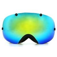 Copozz Polarized Ski Goggles 2 Double Lens UV400 Anti Fog Big Ski Glasses Skiing Snowboarding Goggles