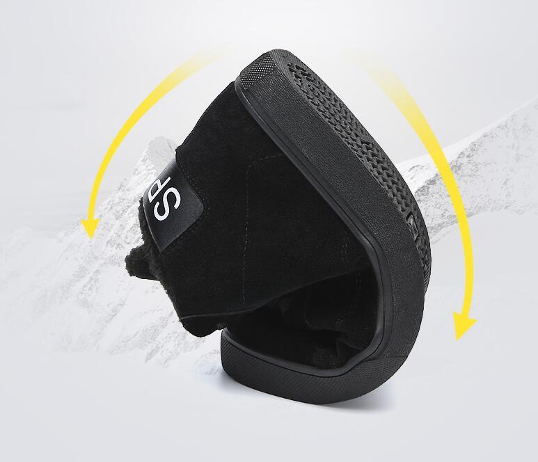 2020 г., лидер продаж, зимние ботинки martin шерстяные вязаные кожаные мотоботы в стиле пэчворк дизайнерская обувь женские ботинки на платформе - 4