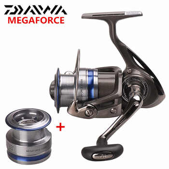 Original DAIWA MEGAFORCE Spinning Fishing Reel With Spare Spool 2000A 2500A 3000A 4000A Spinning Wheel Carretilha Pesca Molinete - DISCOUNT ITEM  47% OFF Sports & Entertainment