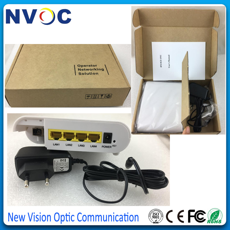 Ethernet Port,euro Charger-cortina Chip Rational Ftth Epon Onu 4ge 10/100/1000mbps