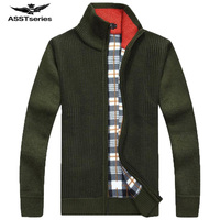 free shipping AFS JEEP brand Sweater Men 2017 Men's Fashion Brand Male Designer Slim Elasticity Cardigan Men Sweater 68