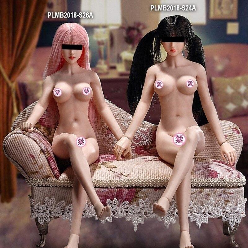 Phicen 1/6 skala Super elastyczne kobiet bez szwu ciała ze stali nierdzewnej z motywem szkieletu nadaje się dla 12 ''action rysunek malarstwo modelu zabawki w Figurki i postaci od Zabawki i hobby na  Grupa 1