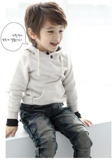 New arrival crianças clothing 100% algodão menino outono lazer moda da longo-luva camisola frete grátis