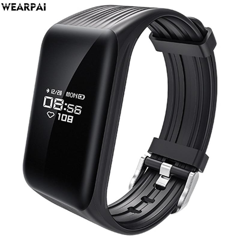 Newest Fitness Tracker k1 Smart Bracelet Real time Heart Rate