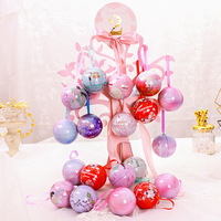 romantic gift box wedding small candy box Happiness tree tin box wedding Favors and Gift flower box plastic bags with handle