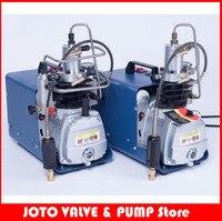 4500PSI 300 Bar 110V/220V Electric High Pressure PCP Rifle Air Pump Water Cooling Airgun Scuba Air Compressor