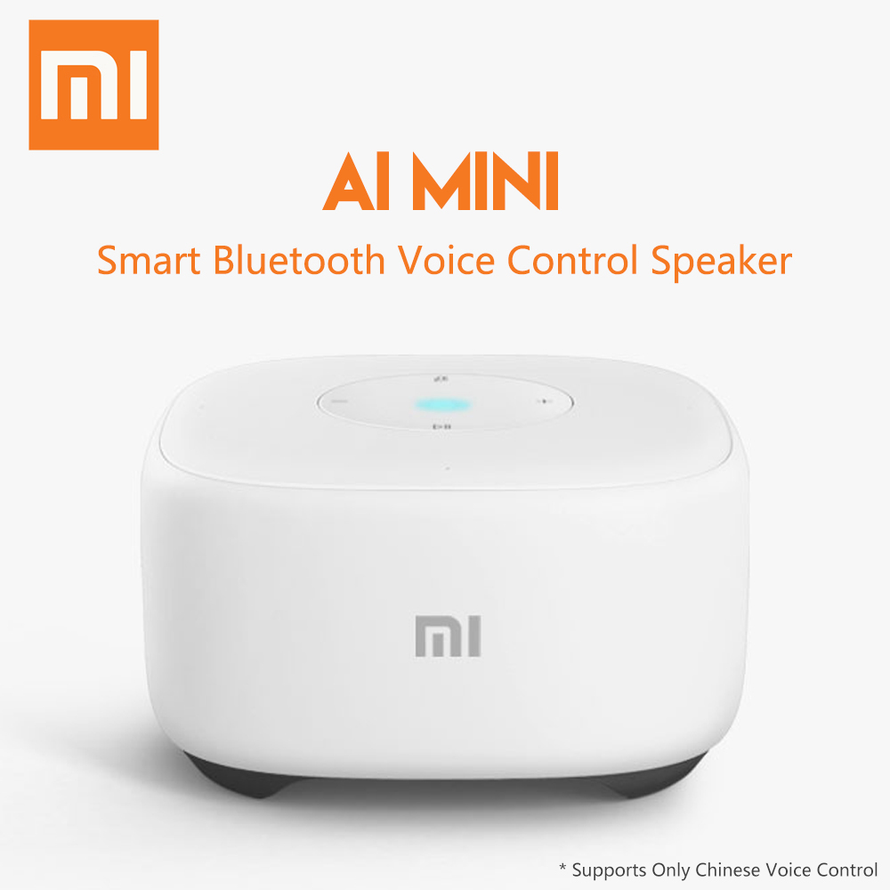 Original Xiaomi Mi Al Mini Voice Control Smart Speaker Bluetooth Radio Player WiFi Story Teller faux pearl velvet water drop choker