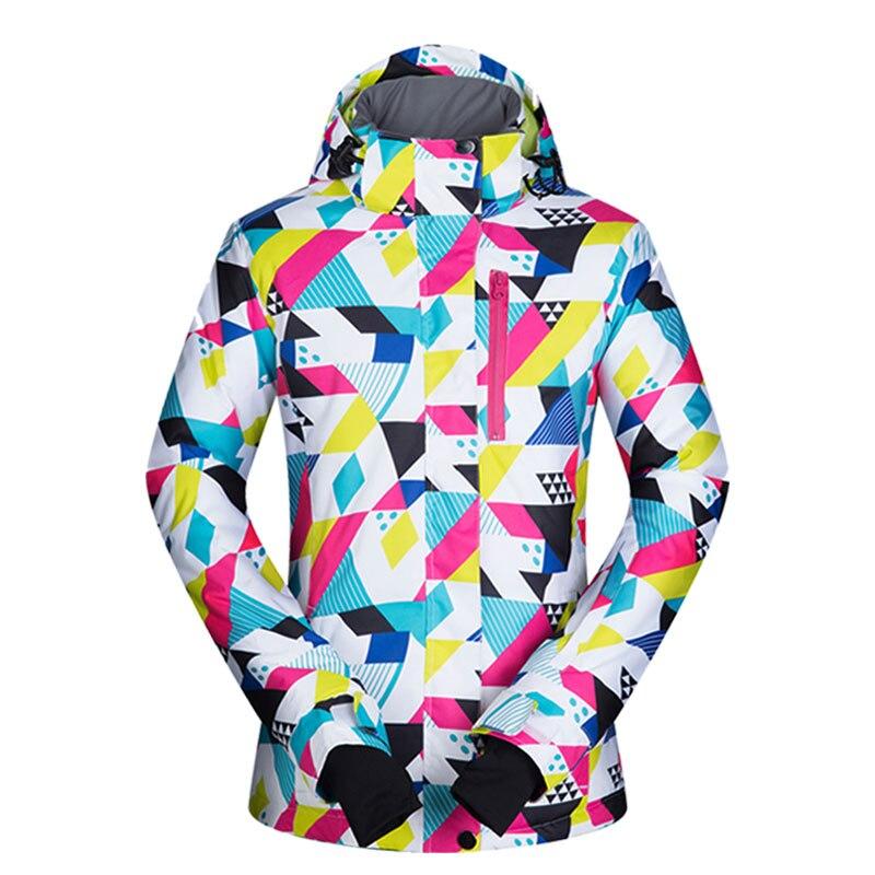 Snowboard Jacket Women New Snow Windproof Waterproof Breathable Skiing And Snowboarding Outdoor Winter Brands Ski Jacket Women
