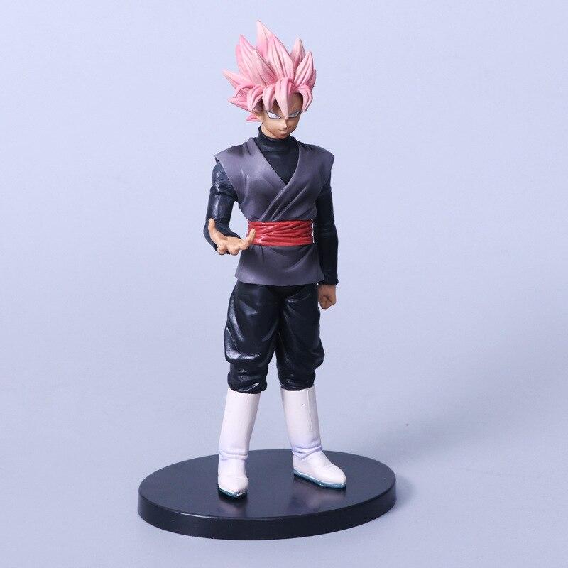 Dragon Ball Z Goku Figure Toy Super Saiyan God Red Hair Son Gokou Anime DBZ Model Doll