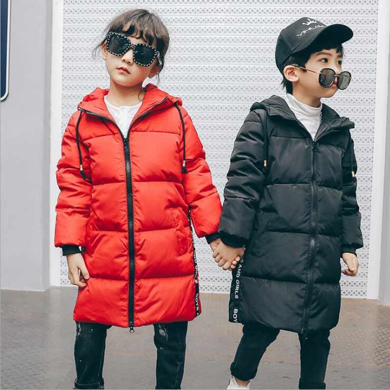 Fashion Children Down Jacket Winter Jacket For Girls Boys Thick Duck Down Kids Outerwears Warm Coat Autumn and Winter russia winter boys girls down jacket boy girl warm thick duck down