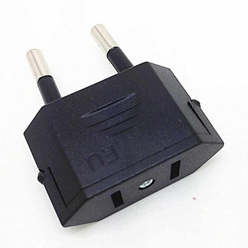 1 pc nowy CN usa do ue Euro europa przejściówka adapter 2 okrągła przejściówka do gniazda podróż energia elektryczna gniazdo adaptera chiny do wtyczki ue