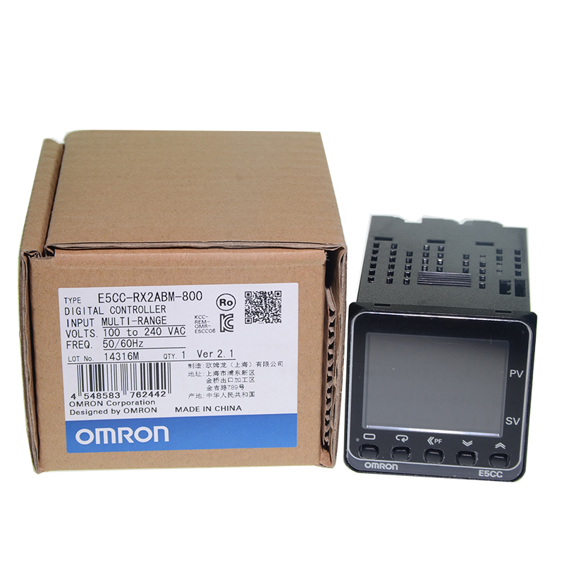 New Digital Temperature Controller Meter E5CC-RX2ASM / E5CC-QX2ASM-800/880/802/801 CX2ASM-804 купить недорого в Москве