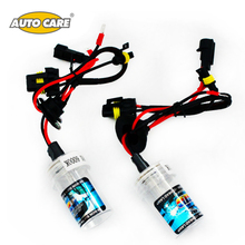 Auto Care HID Xenon Bulbs Headlights Car Lamp H1 55W 12V with Color Temperature 3000K 4300K 5000K 6000K 8000K 10000K 12000K