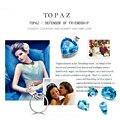 Gemstone Natural Topázio Azul LMTPZ
