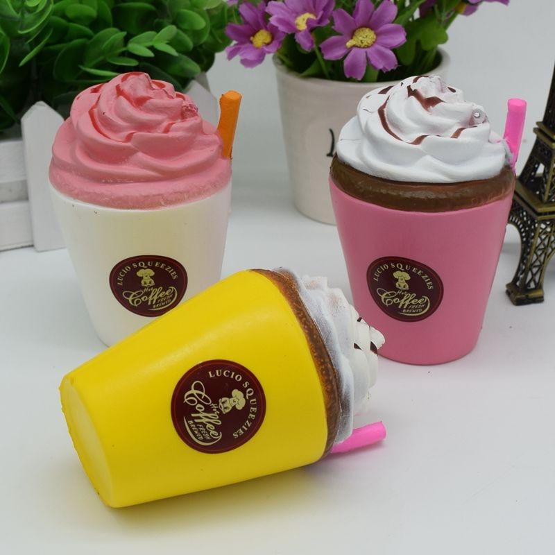 Coffee Cake Squishy Monster : Slow Rising Kawaii Coffee Cup Squishy Cute and Squishy