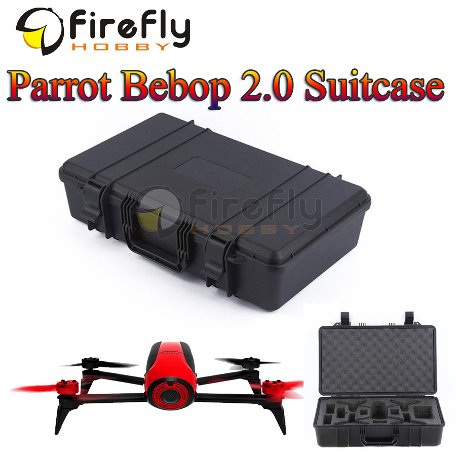Parrot Bebop Drone 2.0 Suitcase Portable Carrying Box Luggage Bag Hand Case for Parrot Bebop 2.0