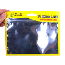 100pcs Fishing Lures Bag Ziplock 13*16cm Self Seal Zipper Plastic Retail Packing Poly Bag, Ziplock Zip Lock Bag Fishing Package(China)