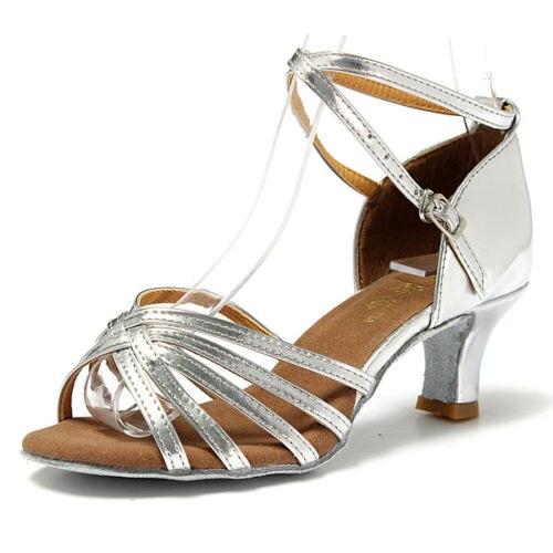 купить ABDB Generic 1 pair Women Heel Shoes Salsa Bachata Latin Sandals Latin Shoe по цене 525.62 рублей