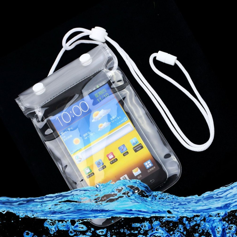 Waterproof Pouch Case Bag Pack Underwater for iPhone for iPod Cellphone Camera MP3 Free / Drop Shipping