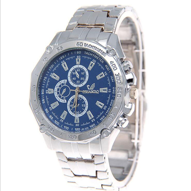 2019 Luxury Brand Quartz Watches Men Colors Stainless Steel Business Clock Gentlemen Casual and Fashion Mens Wristwatch
