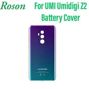 Image 1 - Roson pour Umi Umidigi Z2 boîtier de batterie batterie de protection couverture arrière remplacement adapté pour Umi Umidigi Z2 accessoires de téléphone portable